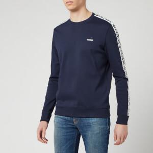 HUGO Men's Doby202 Sweatshirt - Dark Blue