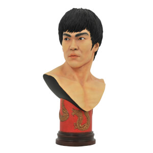 Diamond Select Legends In 3D Movie Bruce Lee 1/2 Scale Bust
