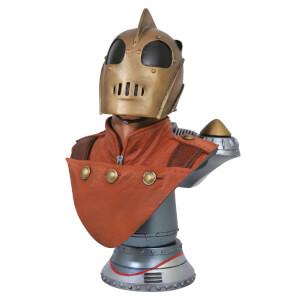 Diamond Select Rocketeer Legends In 3D 1/2 Scale Bust