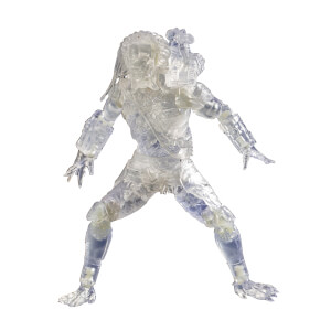 HIYA Toys Diamond Select Predator Invisible Jungle Hunter PX 1/18 Scale Figure