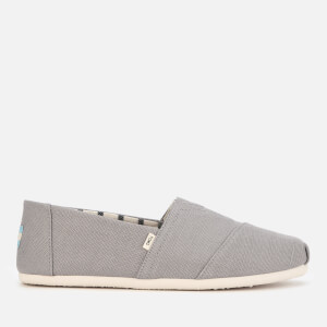 TOMS Men's Dove Grey Heritage Alpargata Espadrilles - Grey
