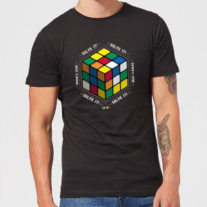 Solve It! Men's T-Shirt - Black