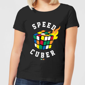 Speed Cuber Women's T-Shirt - Black