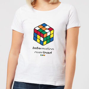 Information Overload Women's T-Shirt - White