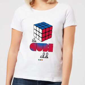 The Cube Club Women's T-Shirt - White