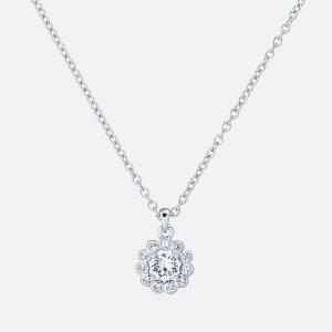 Ted Baker Women's Lramza: Daisy Crystal Daisy Pendant - Silver/Crystal