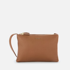 Ted Baker Women's Maceyy Tassel Double Zipped Crossbody Bag - Tan