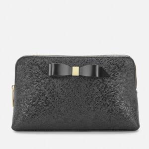 Ted Baker Women's Elois Bow Leather Washbag - Black