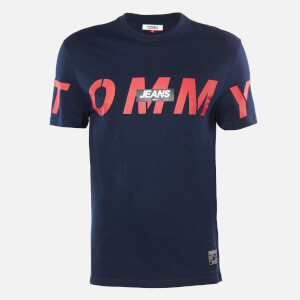 Tommy Jeans Men's Bold Logo T-Shirt - Twilight Navy