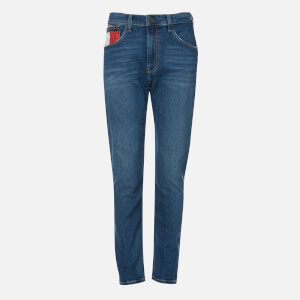 Tommy Jeans Men's Rey Relaxed Tapered Jeans - Save Mid Blue