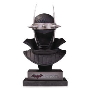 DC Collectibles DC Gallery Batman Who Laughs Cowl 1:2 Scale Replica Statue