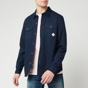 Barbour Beacon Men's Ripstop Overshirt - Navy