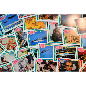 Thunderbirds, Stingray, Captain Scarlet Vintage Topps Trading Card (1993) - Complete Set of 66
