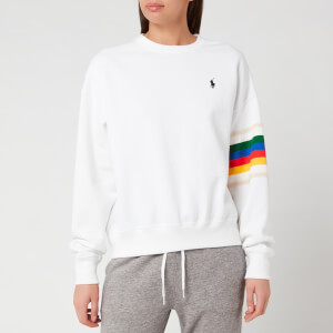 Polo Ralph Lauren Women's Relaxed Long Sleeve Knit - White