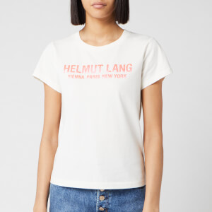 Helmut Lang Women's Baby T-Shirt - Calcium