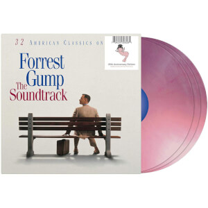 Forrest Gump: The Soundtrack 3x Bubba Gump Shrimp Pink LP
