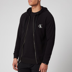 Calvin Klein Men's Full Zip Hoody - Black
