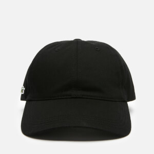Lacoste Men's Basic Croc Cap - Black