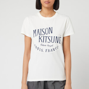 Maison Kitsuné Women's T-Shirt Palais Royal - Latte