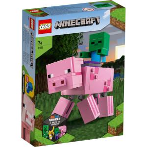 LEGO Minecraft: BigFig Pig with Baby Zombie (21157)