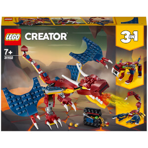 LEGO Creator: Fire Dragon (31102)