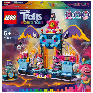 LEGO® Trolls World Tour: Concerto a Vulcano Rock City (41254)