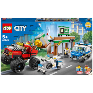LEGO City: Police Monster Truck Heist Building Set (60245)