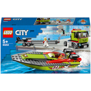 LEGO® City: Rennboot-Transporter (60254)