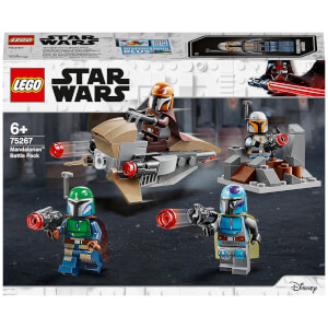 LEGO Star Wars: Mandalorian Battle Pack Building Set (75267)
