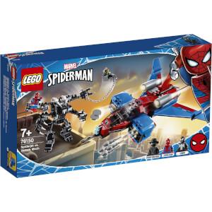 LEGO Super Heroes: Spiderjet vs. Venom Mech (76150)