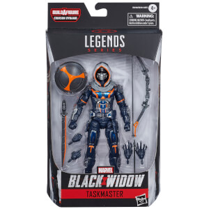 Figura de acción Supervisor - Black Widow Marvel Legend Series