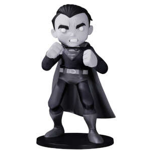 DC Collectibles DC Artist Alley Superman Vinyl Figure by Chris Uminga - Black & White Variant