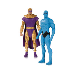 DC Collectibles DC Comics Watchmen Doomsday Clock - Dr. Manhattan Ozymandias Action Figure 2-pack