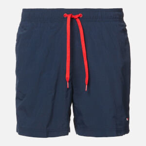 Tommy Hilfiger Men's Small Logo Swim Shorts - Pitch Blue