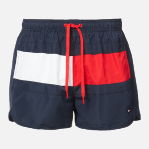 Tommy Hilfiger Men's Runner Swim Shorts - Pitch Blue