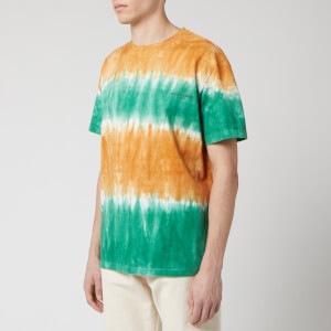Wooyoungmi Men's Tie Dye T-Shirt - Orange