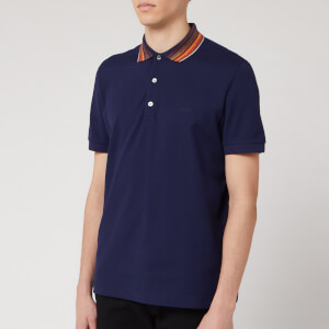 Missoni Men's Piquet Tinta Unita Collo Polo Shirt - Navy