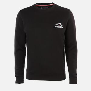 Tommy Hilfiger Men's Basic Embroidered Sweatshirt - Black