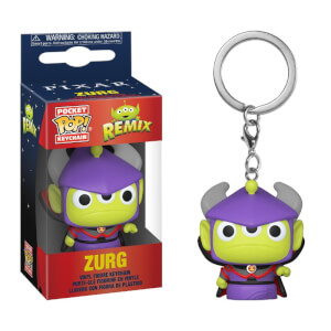 Disney Pixar Alien as Zurg Pop! Keychain