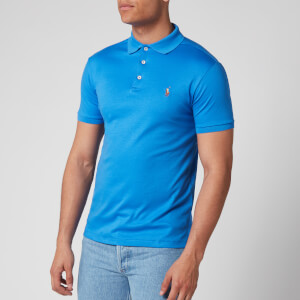 Polo Ralph Lauren Men's Pima Cotton Slim Fit Polo Shirt - Colby Blue