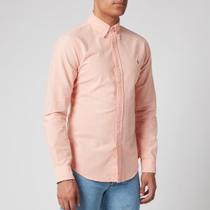 Polo Ralph Lauren Men's Oxford Shirt - Tangerine