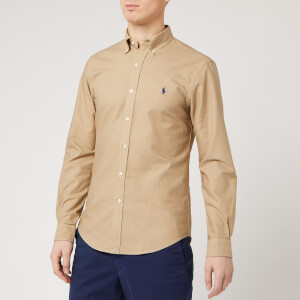 Polo Ralph Lauren Men's Sport Shirt - Surrey Tan