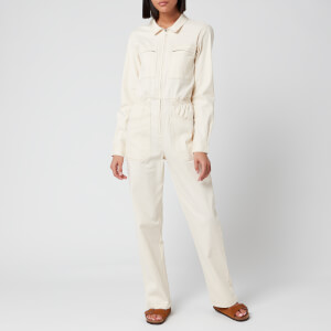 L.F Markey Women's Danny Long Sleeve Boilersuit - Ivory