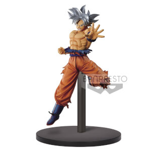 Banpresto DB Super Retsuden II Vol.1 Son Goku Ultra Instinct Statue