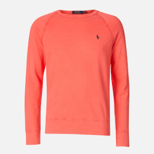 Polo Ralph Lauren Men's Towelling Lightweight Sweatshirt - Racing Red