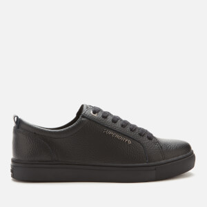 Superdry Men's Truman Leather Low Top Trainers - Black