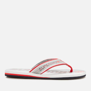 Superdry Men's Trophy Flip Flops - Optic