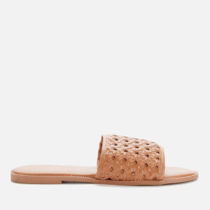 Superdry Women's Woven Slide Sandals - Biscuit
