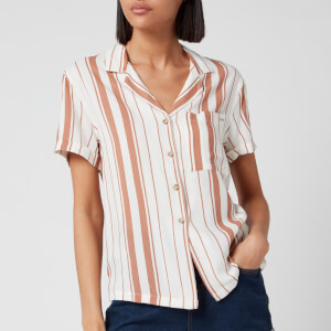 Superdry Women's Arizona Vintage Shirt - Orange Stripe
