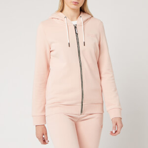 Superdry Women's Ol Elite Zipped Hoody - Dusty Pink